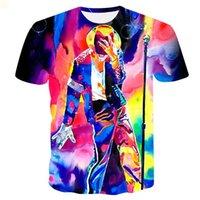 2021 t-shirts T-shirts collés Vêtements pour hommes pour hommes Designers designeurs T-shirt Mode Hommes Vêtements Hip Hop Camisas de Hombre Femelle Crop Top Mens 3D Imprimer 9m132