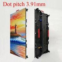 야외 방수 Led 디스플레이 보드 3.91 픽셀 피치 비디오 벽 500x1000mm 크기 패널 HD 풀 컬러 기호 128x256 픽셀