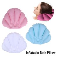 Other Bath & Toilet Supplies Spa Pillow Luxury Support Shell Inflatable Pillows Cushion