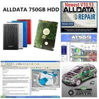 2021 Quente Todos os Dados Reparação Automática Soft-Ware ALLDATA Soft-Ware Vivid Workshop ATSG em 750GB HDD USB 3.0 AutoMotive Repair Soft-Ware Remote Ajuda
