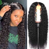 13x6 Water Wave Front Hu Hair s 30 32 Inch Brazilian Curly Frontal 250% 4x4 5x5 Lace Closure Wig Preplucked