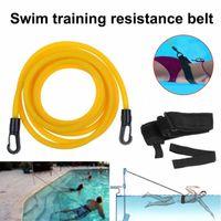 Регулируемая дрессировка по плаванию рецидив сопротивления ремень для плавания банджи для взрослых детей безопасности.