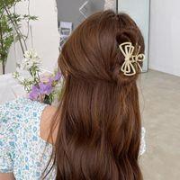 Hair Accessories Women Elegant Vintage Rhinestone Pearls Geometric Metal Sweet Holder Clips Headband Fashion
