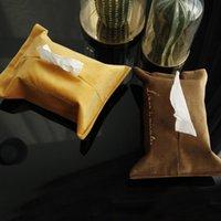 Boîtes de tissus Chaîne de boîtes de boîtes de boîtes de boîtes de boîtes de boîtes à conteneur Tissu de serviettes de serviette à domicile Teinture de voiture Distributeur Distributeur Table de table Decor