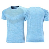 Sportskjorta Män Fitness Running T Shirt Snabbtorkad Kompression Träning Tight Gym Training Shirt Tee Soccer Jerseys Top Sportswear