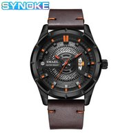 Wristwatches Mens Watches Top Military Watch Fashion Casual Men's Digital Sport Leather Lumious Hand Date