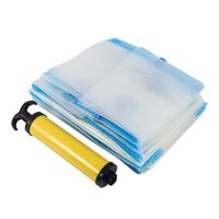 Storage Bags Lot Of 10 Vacuum Bag Cleaner Pump Free Waterproof Suction Triple Wate