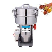 Máquina de molinillo de grano eléctrico de tipo de giro 2000G para moler diversas especias hierbas medicina china