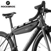 Rockbros Front Tube Bag Bicycle Extended Impermeabile Bames Outdoor Sports Borse ciclismo Accessori Bike Accessori