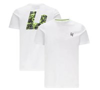 2021 F1 Fórmula One Racing Camisetas de manga corta y de manga corta para mujer / absorción personalizada de humedad y uniformes redondos de secado rápido.