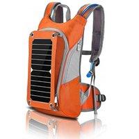 Backpack Howo Homens Caminhando Daypacks Multifuncional Trabalhos de Viagem Bolsa de Ombro de Negócios Com Painel Solar para Telefone, Câmera, Laptop
