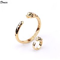 Donia Jewelry Luxury Bangle Enamel Leopard Print Set Exaggerated Titanium Steel Micro-inlaid Zircon Gifts from European and American Fashion Designers with box
