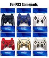 무선 블루투스 게임 패드 조이스틱 컨트롤러 게임 콘솔 액세서리 USB 핸들 Gamepads PS3 PC 듀얼 쇼크 3 소매 상자