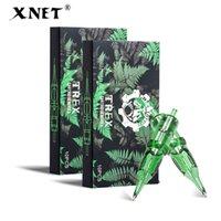 XNET Trex Tattoo 카트리지 바늘 20pcs 1rl 3rl 1rm 5rm 일회용 살균 안전 문신 바늘 카트리지 기계 그립 용 410323