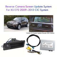 Car Rear View Cameras& Parking Sensors Camera Interface For- X5 E70 2009-2013 Screen CIC System Reversing Decoder Module