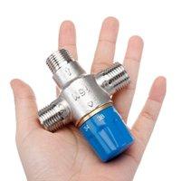 XUEQIN DN15 Смесительный клапан Смесительный клапан Ванна Смеситель Температура Регулятор Главная Улучшение Душевые Наборы