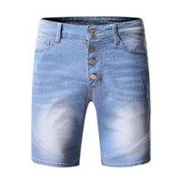 Men's Jeans Ripped Shorts Men Summer Casual Mens Denim Fifth Pants Jean Homme Pantalones Hombre