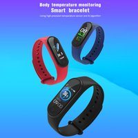 M4S Multifunctional Heart Rate Sleep Waterproof Sports Bluetooth Smart Band Mens Women's Multi-sport Modes Smartwatches 5 Colors