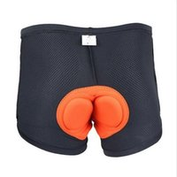 High Quality Bicycle Comfortable Underwear Sponge Gel 3D Padded Bike Short Pants Breathable Quick Dry Cycling Shorts Size S-XXXL