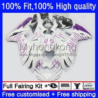 Body Purple flames Injection For SUZUKI GSXR600 GSXR 600 750 CC 600CC 750CC K11 23No.140 GSXR750 2011 2012 2013 2014 15 16 17 GSXR-600 11 12 13 14 2015 2016 2017 OEM Fairing