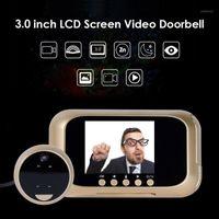 Digital HD Elektronische Türklingelkamera PIR Motion Detektion Viewer Video PO Türglocke Peephole Outdoor Eye Out Auge Türklagen1
