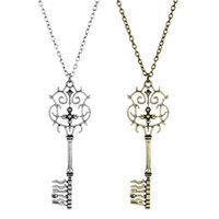 movie peripheral New nutcracker and four kingdoms crown key necklace sweater chain