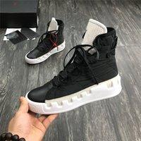 2021 scarpe casual in vera pelle stivali rossi bianchi nera nera da uomo scarpe da ginnastica impermeabile