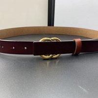 Fashion Mens Womens Cinture Bronze Bronze Fibbia Cintura per uomo Donna 2021 Classic Caldaband 3,0 cm Larghezza 210567V