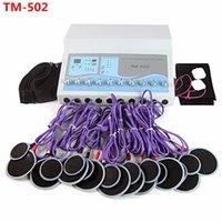 Máquina de pérdida de peso Estimulador muscular Máquina de electrostimulación Ondas rusas EMS Estimulador muscular eléctrico TM-502