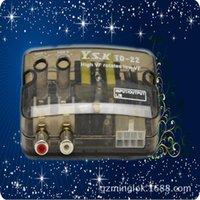Inne Auto Electronics GloryStar Car Audio Converter Stereo High To Low Regulowany Regulowany Linia Częstotka Poziom głośnika + Opóźnienie