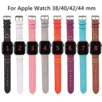 Designer Watchbands Cinturino per apple cinturino da orologio 42mm 38mm 40mm 44mm Iwatch 5 4 3 2 Bands Luxury Pelle Smart Starps Watchband all'ingrosso