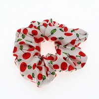 6CM 16MM Other Fashion Accessories Wholes Colorful Digital Print Silk Scrunchies