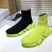 محبوك الجوارب مطاطا الأحذية ربيع الخريف الكلاسيكية مثير رياضة عارضة النساء الأحذية منصة أزياء الرجال الرياضة التمهيد سيدة السفر سميكة أحذية كبيرة الحجم 35-42-45 US4-US1
