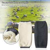 Elbow & Knee Pads Long-lasting Lightweight Winter Ergonomic Warm Cashmere Sleeve For Skiing