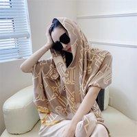 2022 Осень и зима модная бестселлер женская Xin Scarf, осень / зима теплые кашемировые напечатанные длинные шарфы 180 * 65см высокое качество