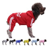 Small Dog Cat Clothes Pet Dog Hoodie Puppy Sweatershirt Autumn Winter Warm Jacket Chihuahua Teddy Poodle Schnauzer Yorkie Pets Hoodies