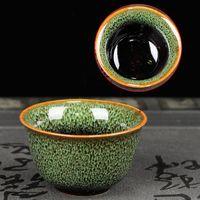 Cups & Saucers Vintage Tea Cup Ceramic Single Pinming Kiln Changing Bowl 60ml Master Household Drawing