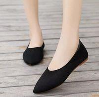 женщины квартиры повседневная обувь марочные обуви женщина плоский эластичная ткань переплетения света мягкие Chaussures Femme Zapatos Mujer Sapato N198 F4wL #