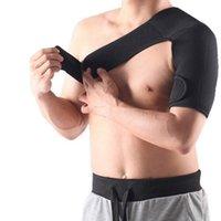 Suporte de costura sem costura respirável suporte de ombro esportes único protetor de ombro cinta cinta para dor ombro entorse mais novo