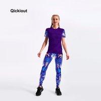 Qickitout 2021 alfabeto trajes mujeres conjuntos informales para camisetas y pantalones estampados Leggings Sexy Lively Lively Girl El vestido de dos piezas
