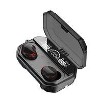 무선 이어폰 이어폰 이어폰 A18 A17 A16 TWS 블루투스 헤드폰 방수 스포츠 노이즈 9D 스테레오 5.1 충전 박스 2000mAh