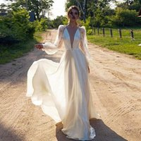 Casual Dresses Ladies Long Sexy Party Dress V-Neck White Cross Lace Formal Slim Wedding Evening