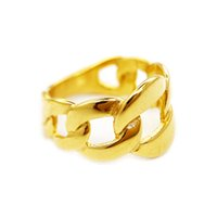 Fashion Simple Silver Gold Band Ring For Men Stainless Steel Flower Knotted Big Rings Man Cute Personalized Hiphop Father Day Jewelry Wholesale With Box