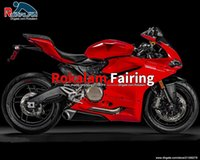 For Ducati 959 15 16 17 Bodywork Parts 1299 1299s 2015-2017 Motorbike Cover Gloss Red Fairings Set (Injection Molding)