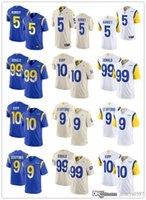 "الرجال لوس أنجلوس ""رامز"" جيرسي 99 آرون دونالد 2 روبرت وودز 9 ماثيو ستافورد 5 جالين رامزي 10 كوبر كوب كوب فولز"