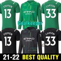 21 22 Ederson M. City City Soccer Jerseys 2021 2022 Chemise football sterling Man Foden de Bruyne G. Jésus Bernardo Mahrez Ferran Hommes Kits