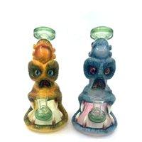 Hookah 3D animal design bong vidro artesanal personagem bongs tubos de água Dab