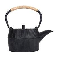 Su Şişesi Açık Kamp Tencere Demir Çay Totr Dökme Çaydanlık Kaynar Su Isıtıcısı Teaware Hediye