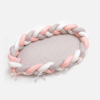 Baby Cribs Direct Selling Sale 90x50cm Knot Outdoor Journey Bed Portable Crib Travel Cot Nest For Toddler Born Bassinet Removable