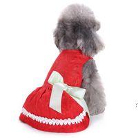 Домашняя одежда для собак Домашние животные Baby Симпатичные Платье для домашних животных Юбка с луком Летняя Одежда Точка Арбуз 20 Стилей Собаки Юбки XS-L BWE8578